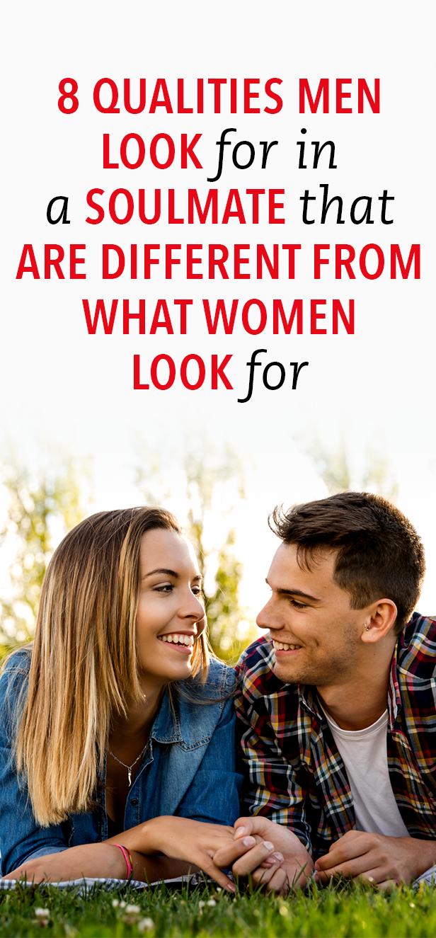 Qualities men look for