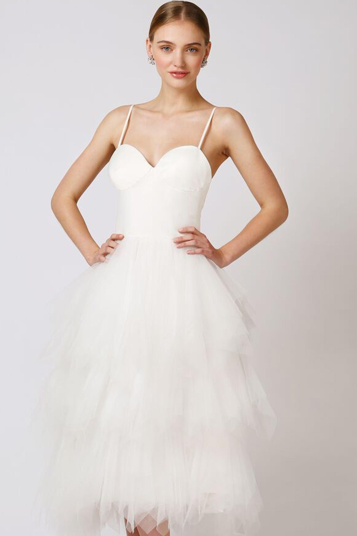 lilly dress short wedding dress love found true the babushka