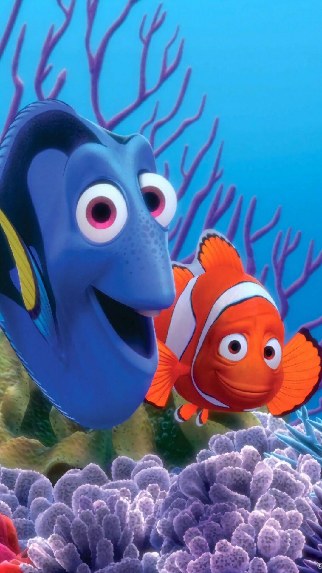 Idea by Jason Baker on Wallpapers | Disney duos  Walt Disney Pictures Presents A Pixar Animation Studios Film Finding Nemo