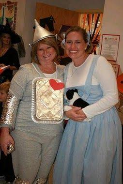 Diy Wizard Of Oz Tin Man Costume For Girls Tin Man Costumes Girl Costumes Tin Man Halloween Costume