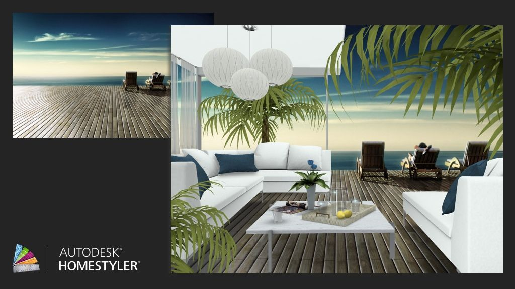 """Check out my #interiordesign """"Beach """" from #Homestyler http://autode.sk/1ljNWE3"""
