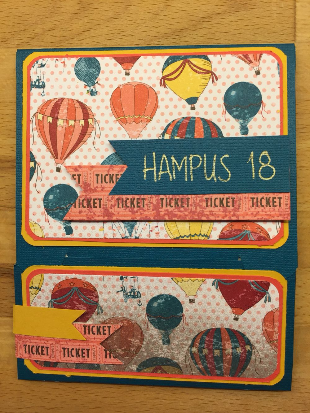 Scrapbooking card Hampus 18