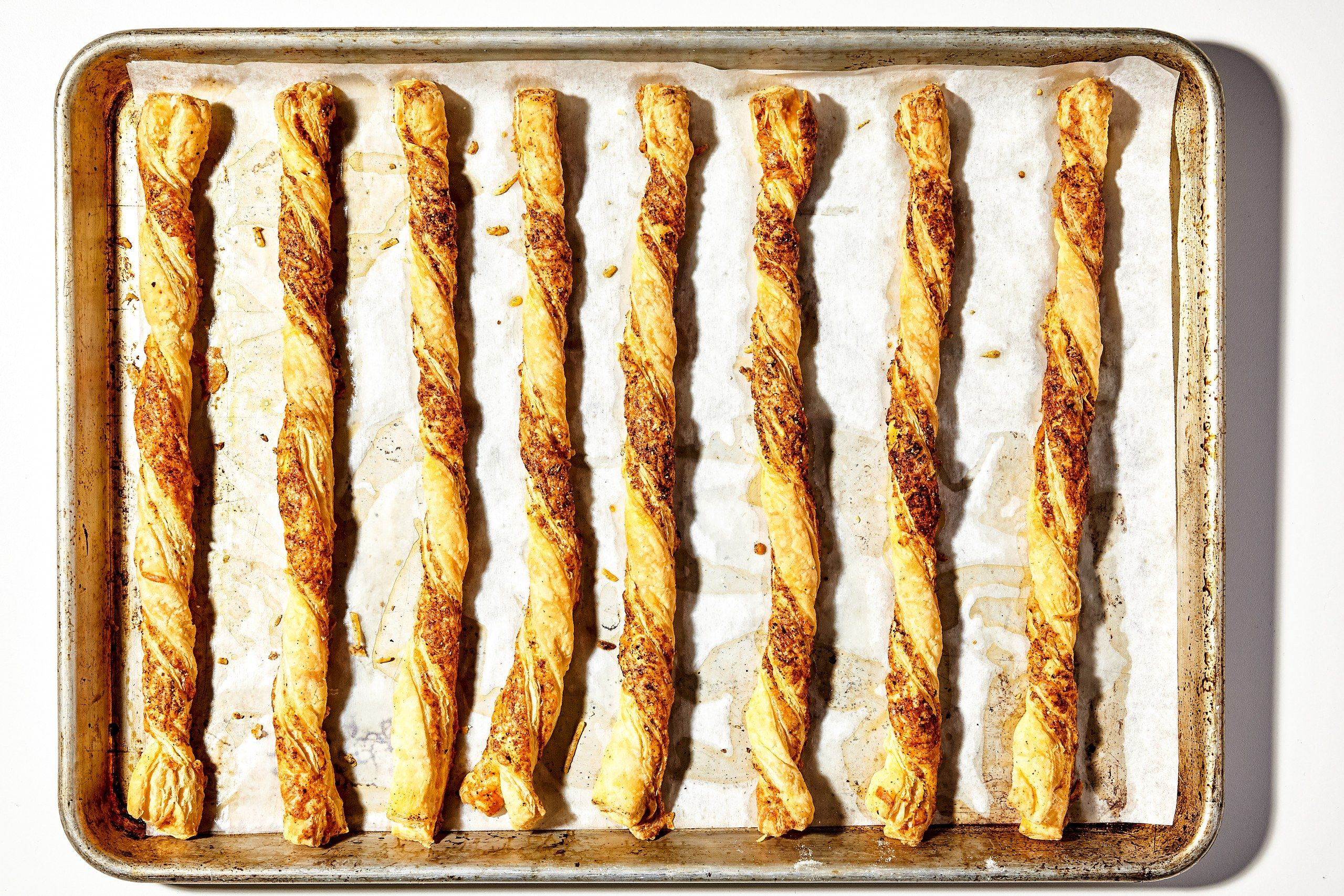 Crispy Cheese Twists - Recipe - Cheese Twists, Party Appetizers