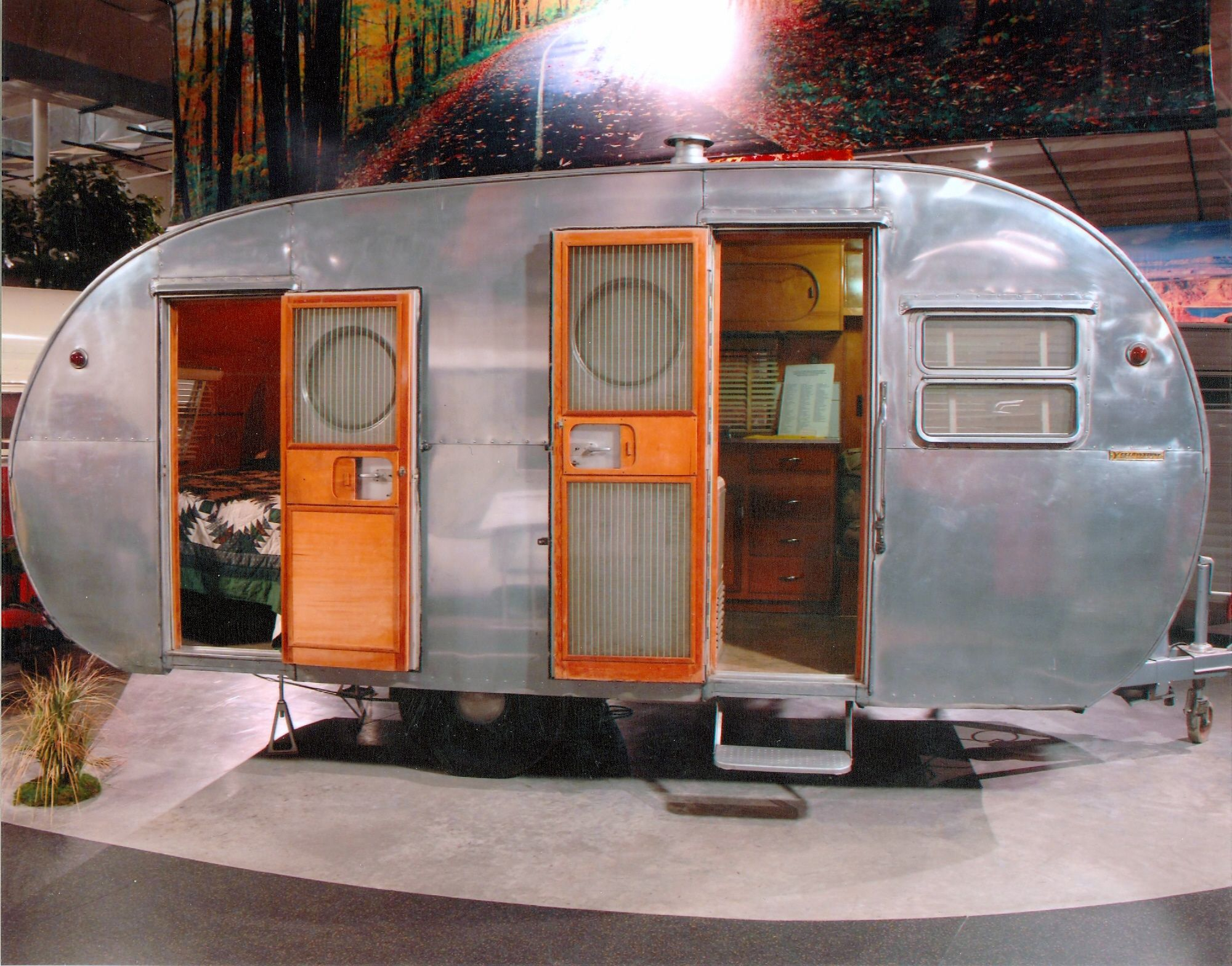 1954 yellowstone 18 foot travel trailer rv collection 22 gift of rv dealers