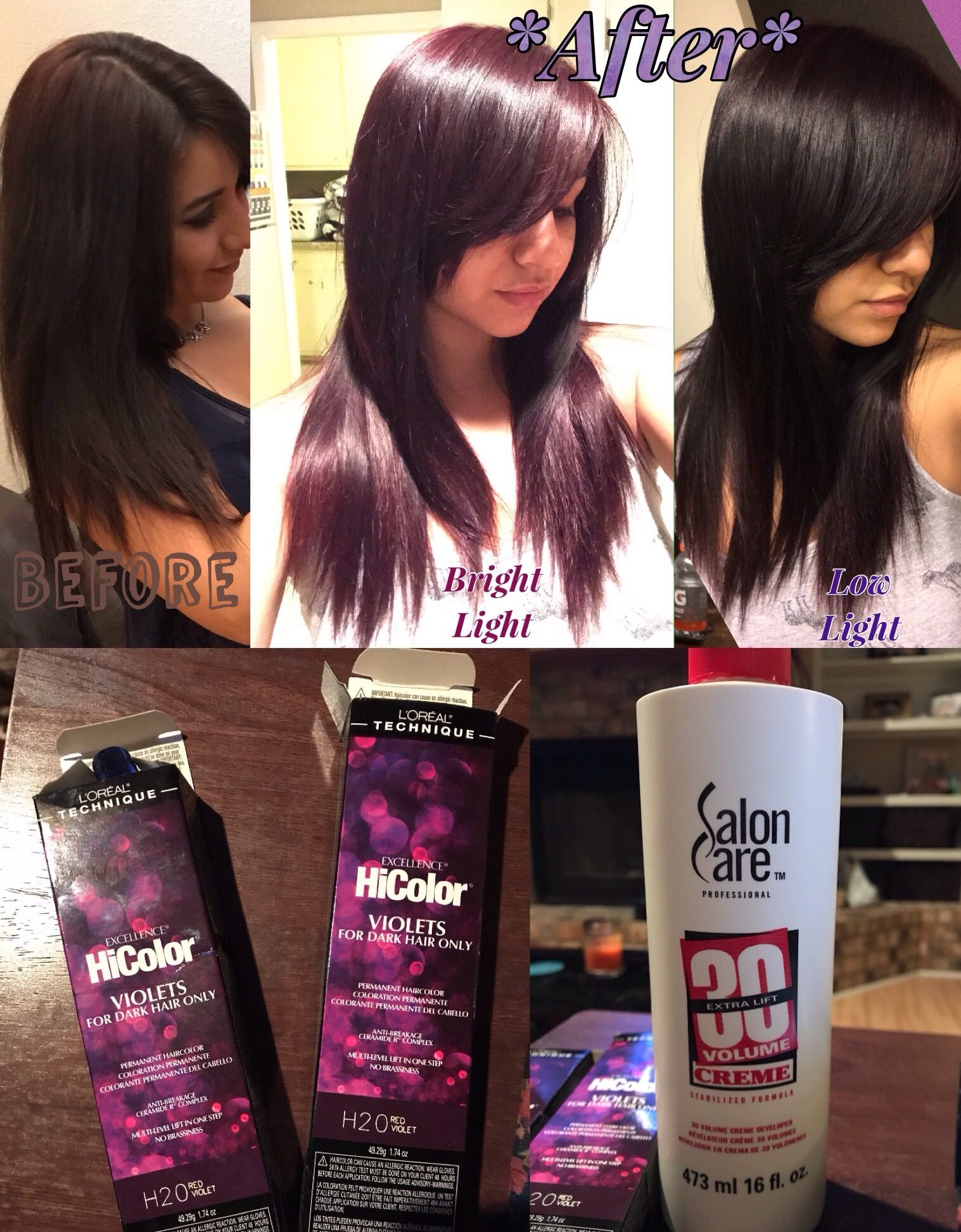 Tried The New L Or 233 Al Hicolor Violets Red Violet Love It