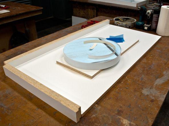 Two Build A Concrete Countertop Mold Diy Concrete Countertops