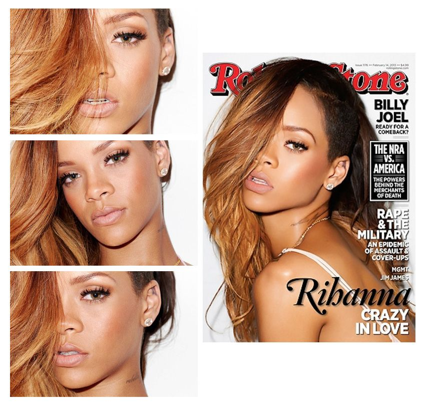 rihanna curly hair styles the world rihanna is currently gracing the cover of 3057