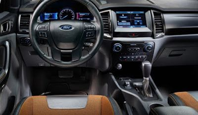 2019 FORD RANGER RAPTOR interior | Vehicles | Pinterest