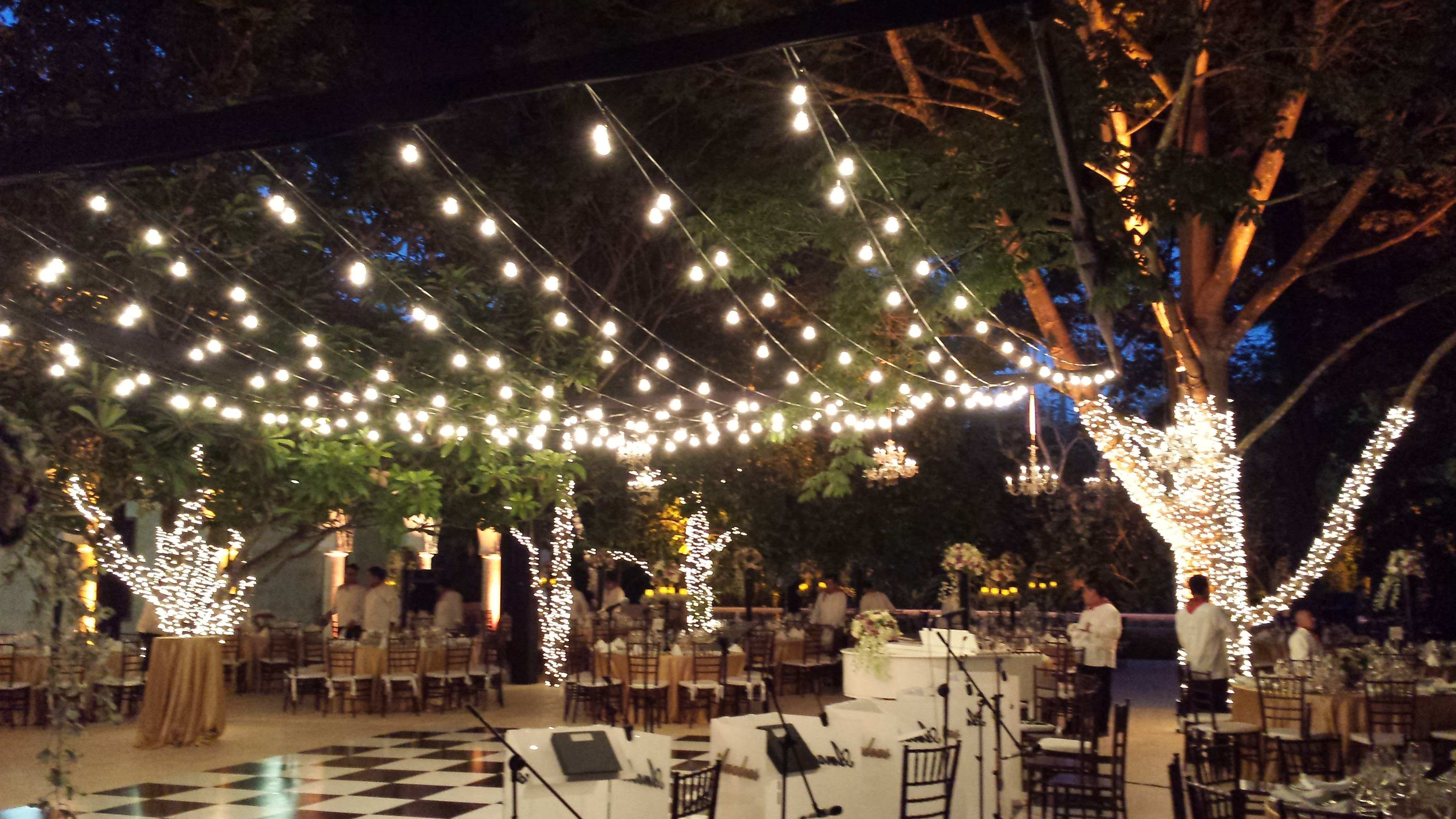 Get Your String Lights In Shape With Por Patio Light Hanging Patterns