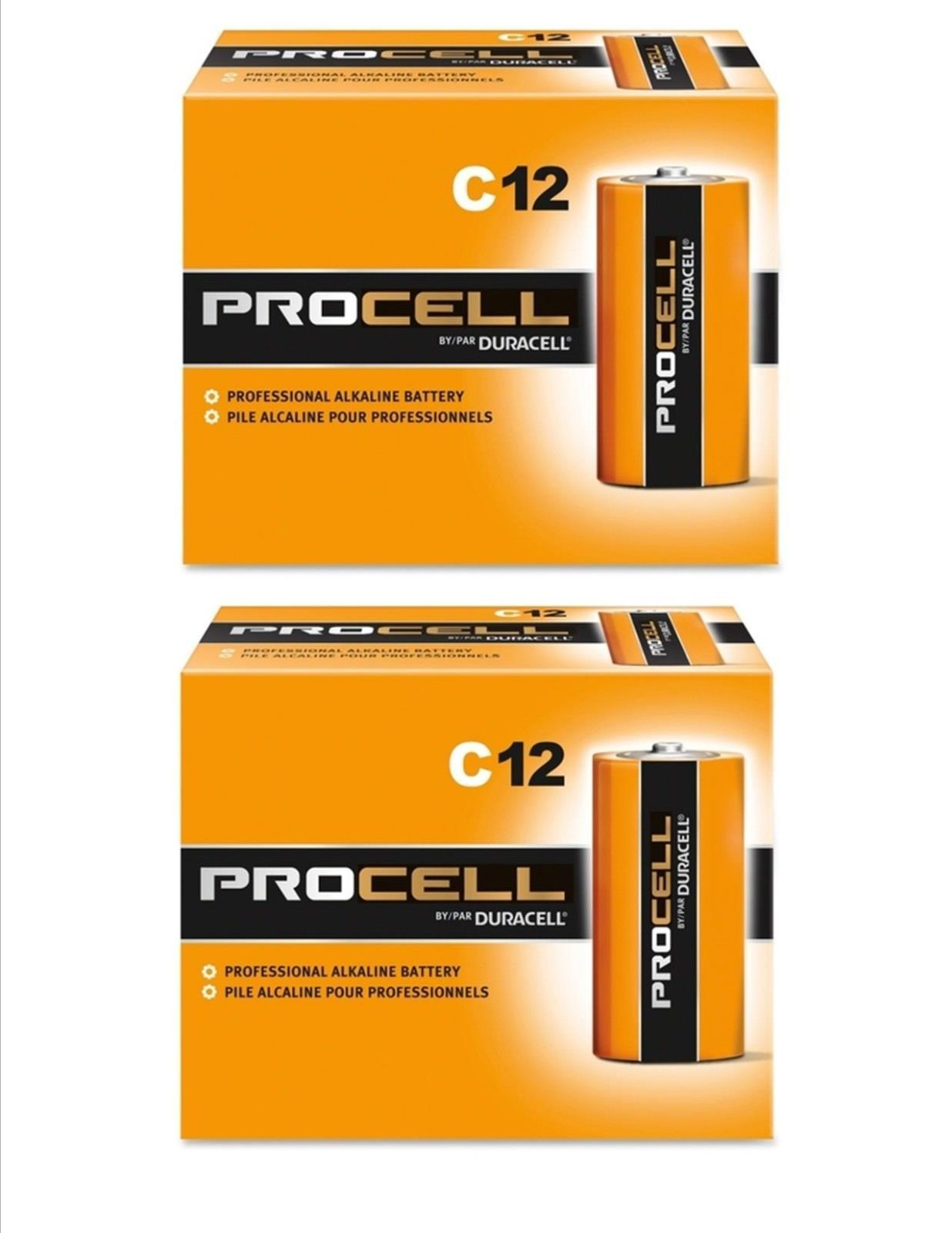 Click Now Duracell Industrial Procell C Batteries Alkaline Battery 24 Count Expires 3 2024 Duracell Alkaline Battery C Batteries