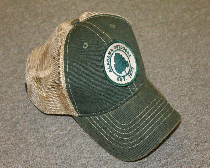 9844bdfb5 Legacy Alabama Outdoors Green Old Favorite Trucker | hats | Alabama ...