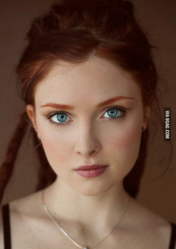 I heard you like Redheads #beautyeyes
