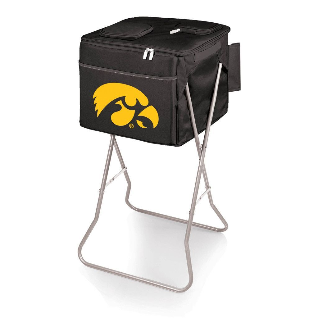 Iowa Hawkeyes Party Cube Cooler Tote w/ Stand