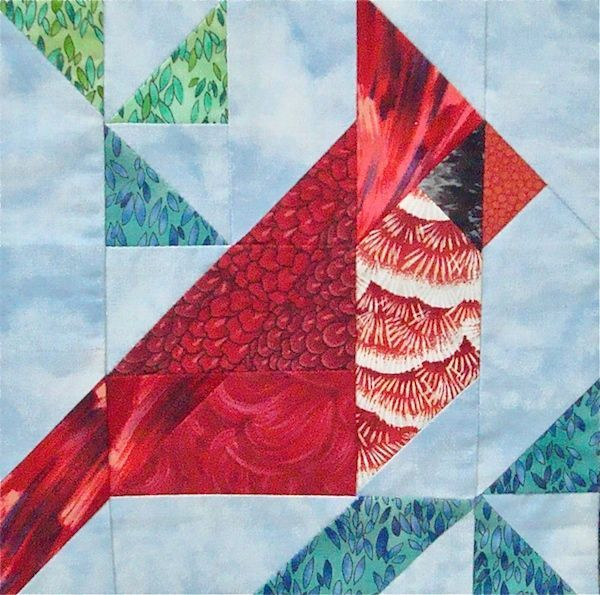 cardinal quilt block - Google Search | Bird pattern | Pinterest ... : cardinal quilt - Adamdwight.com