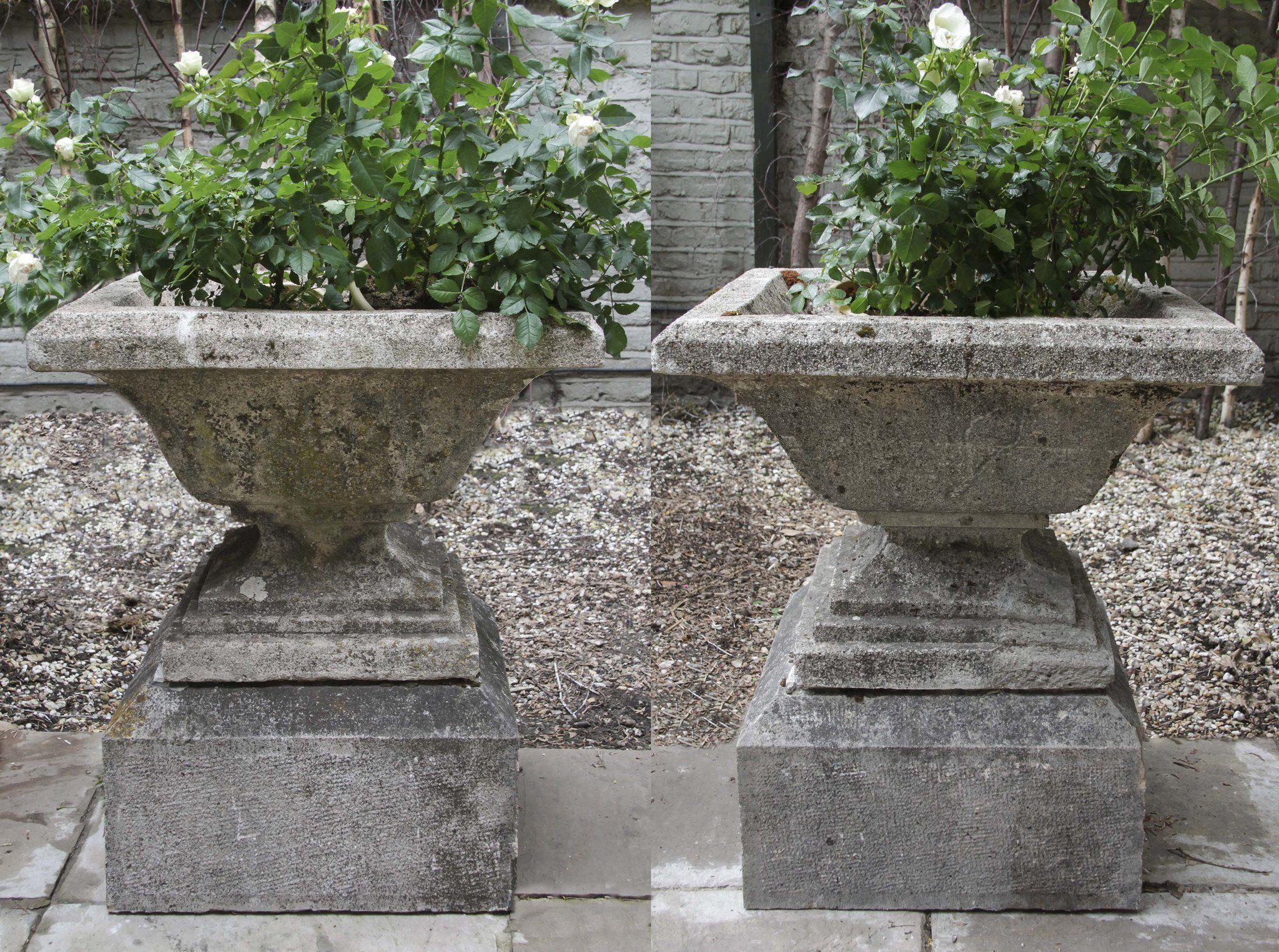 Garden urns, Garden stones, Garden design