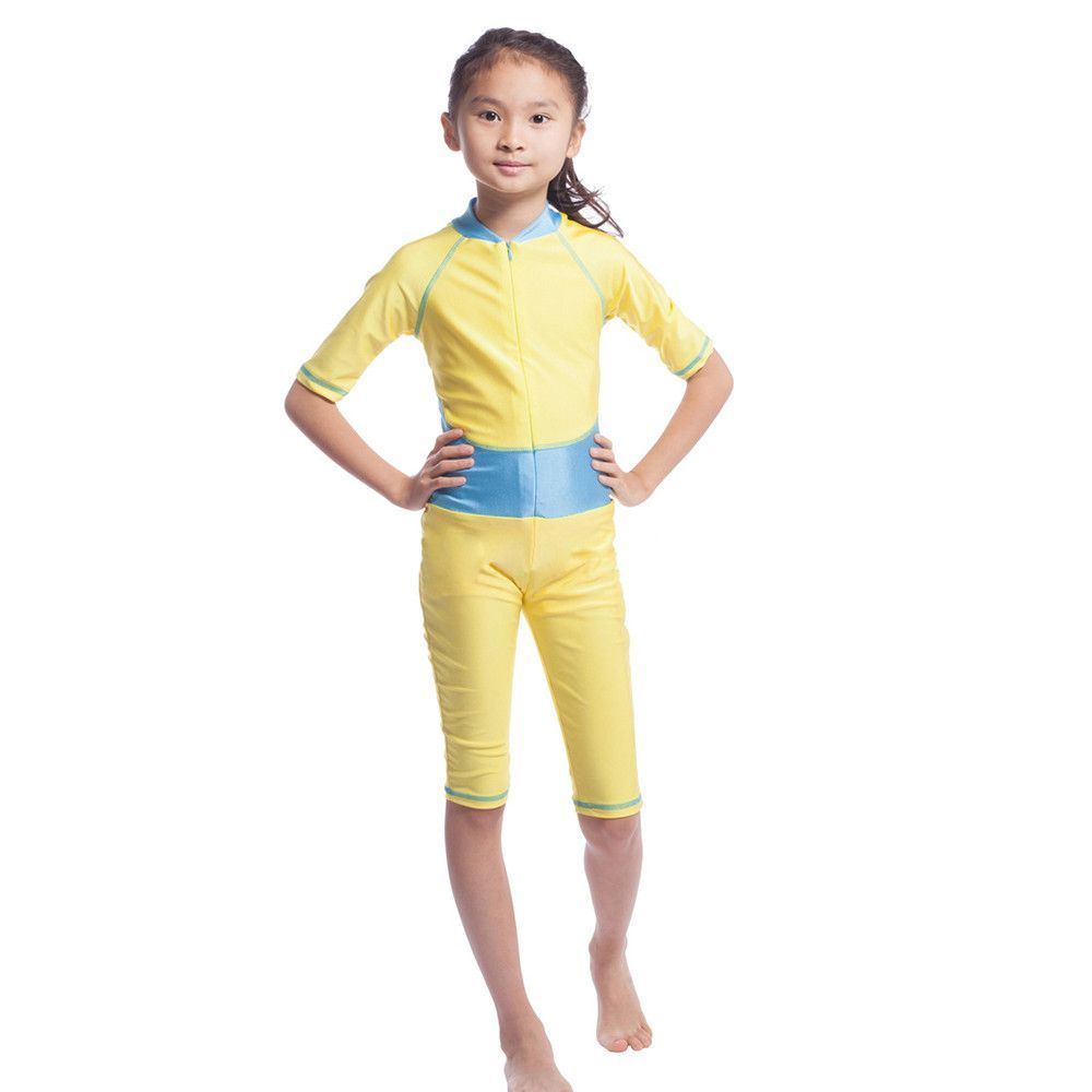 76a3b54208a6 Musilim Swimwear Swimsuit Burqini hw20A Child golden S   Products ...