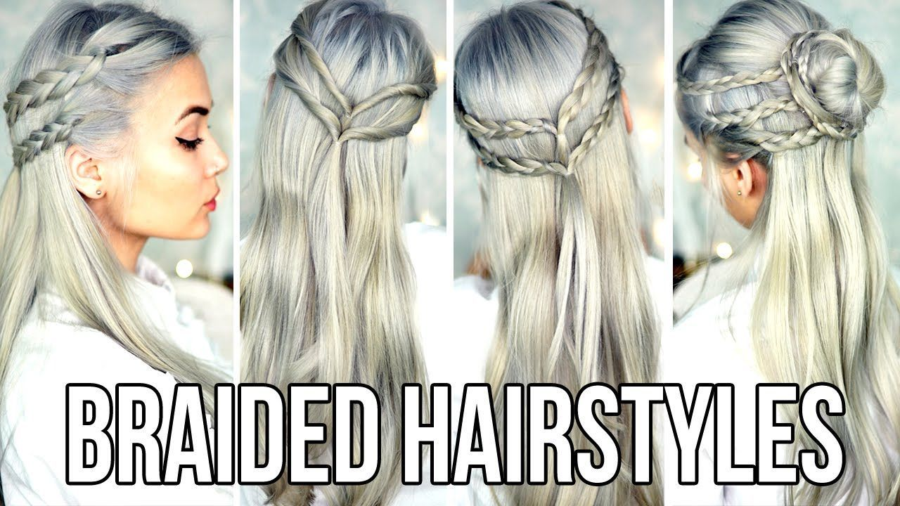 Cute u easy braided hairstyles for school the first two are super