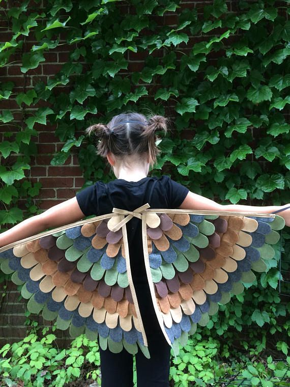 OWL COSTUME// Wings and Mask // Many Sizes Soft flappable : owl costume wings  - Germanpascual.Com