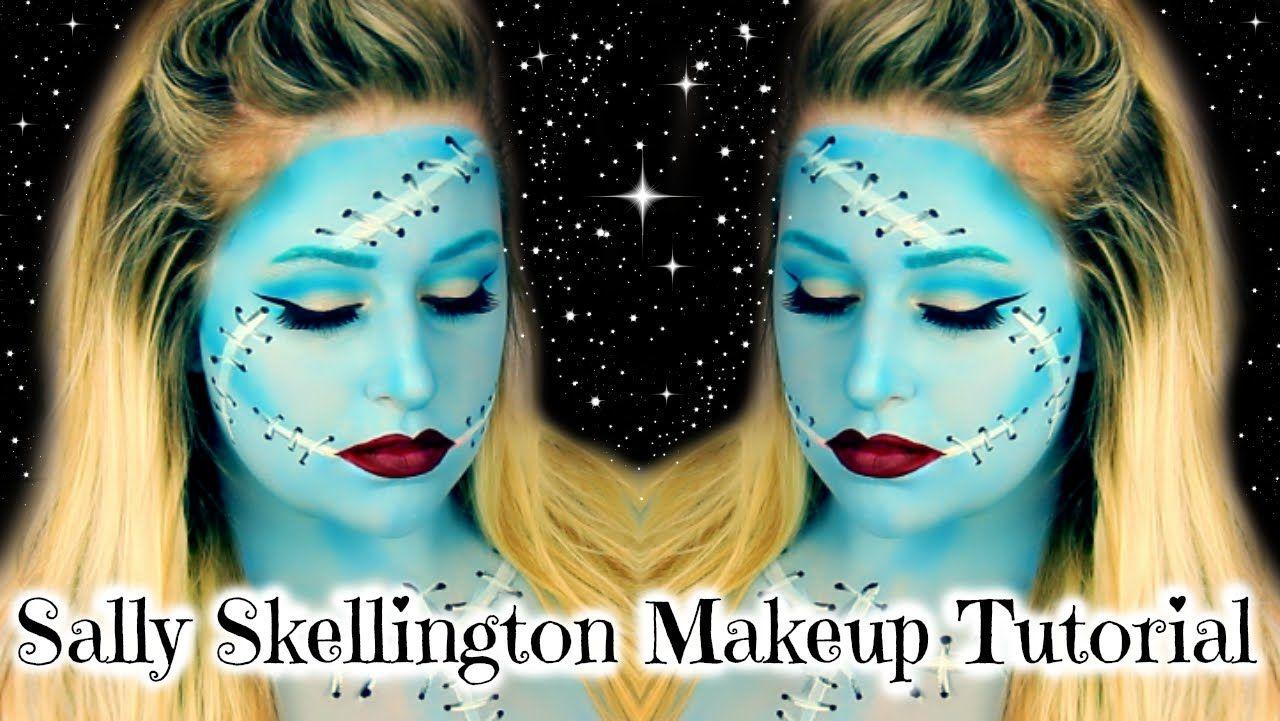 nightmare before christmas makeup tutorial | Hairstly.org