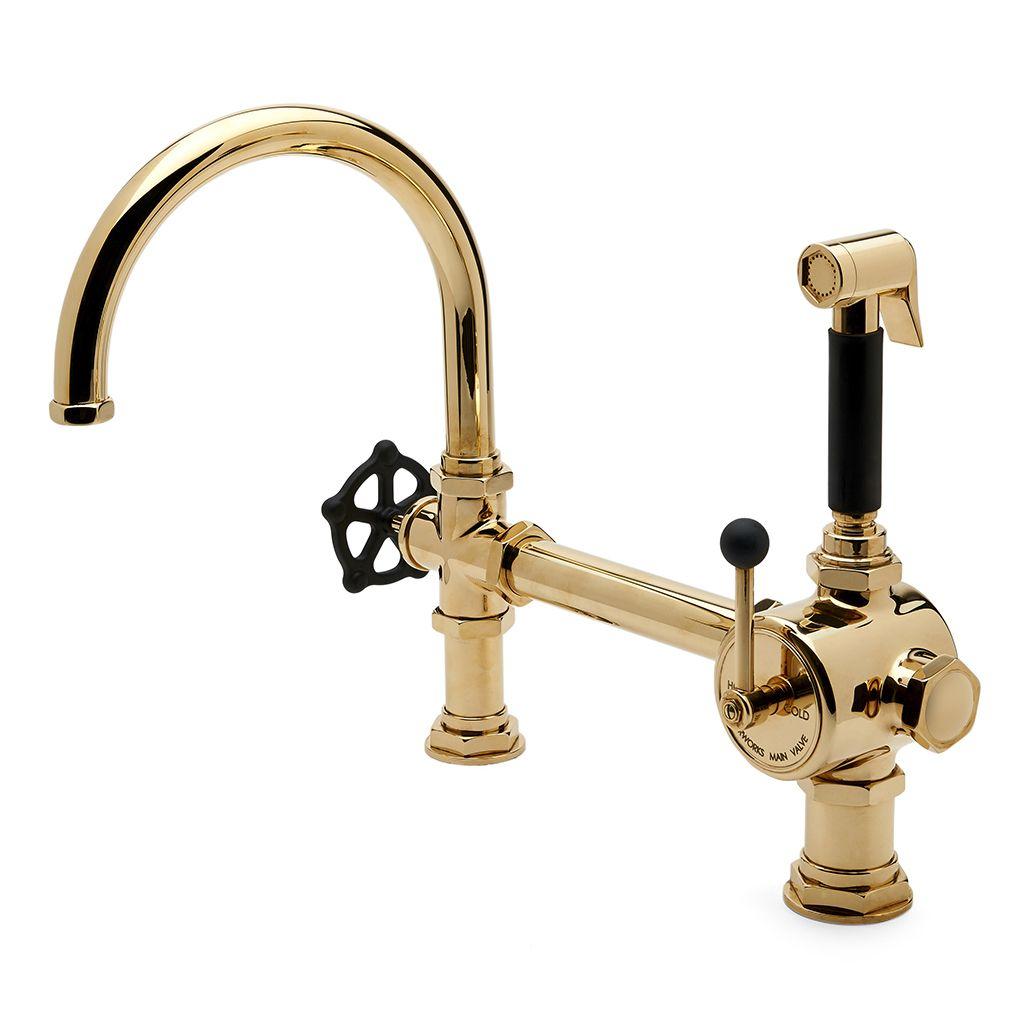 Industrial Kitchen Faucet Industrial Kitchen Design Brass