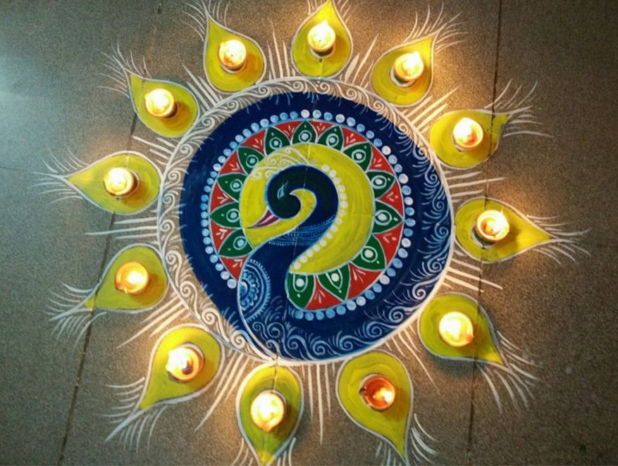 Simple Diwali Rangoli Designs Rangoli Designs Rangoli