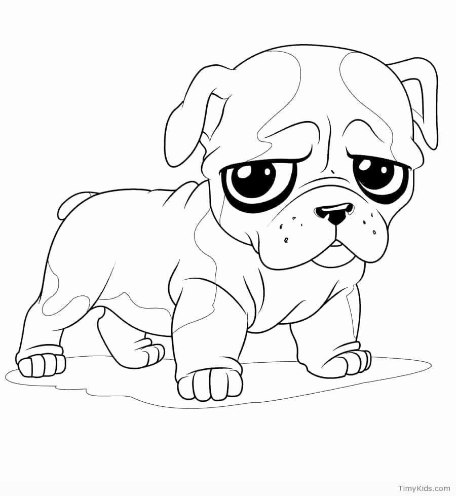 Cute Dog Coloring Pages Printable