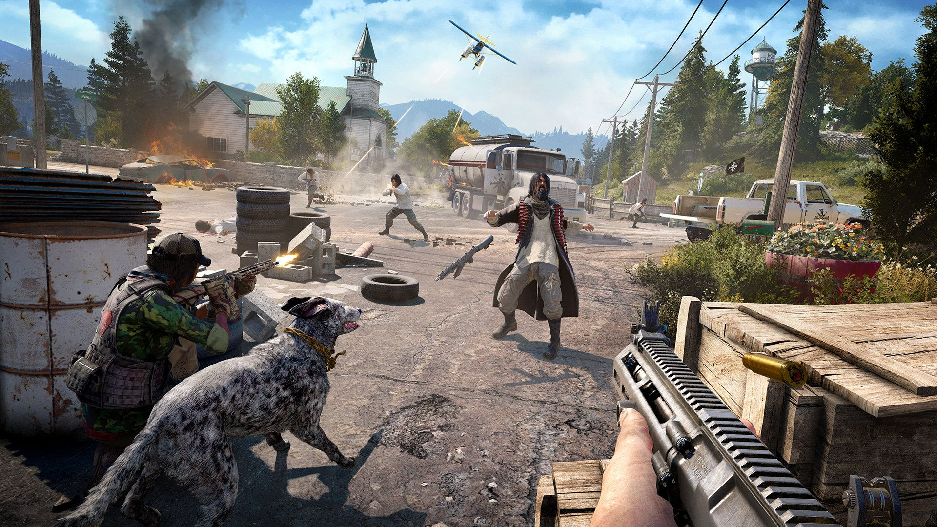 FAR CRY 5 IN MARCH WE WILL HAVE THIS GAME I HAVE MANY