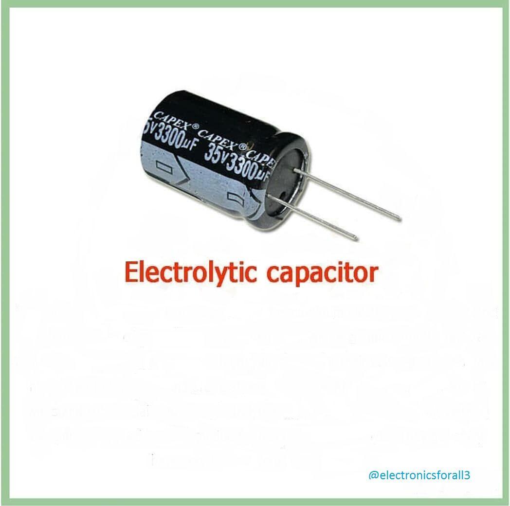 Electrolytic Capacitor Capacitor Electrolytic Capacitor The Art Of Electronics