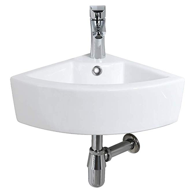 wall mounted bathroom sinks