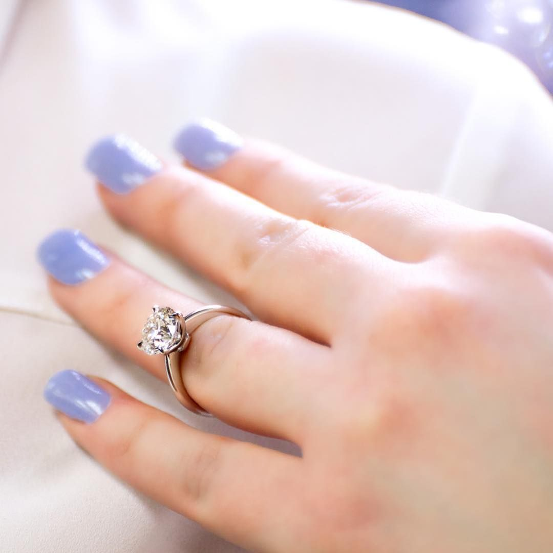Is a one carat diamond engagement ring big enough our inhouse