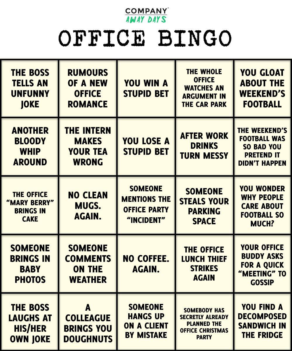 The Glamorous Office Bingo Template Colona Rsd7 Regarding Ice Breaker Bingo Card Template Pics Below Is Sect Office Bingo Bingo Template Bingo Card Template