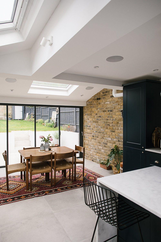 Victorian Terrace Home Tour Modern Flooring Kitchen Diner