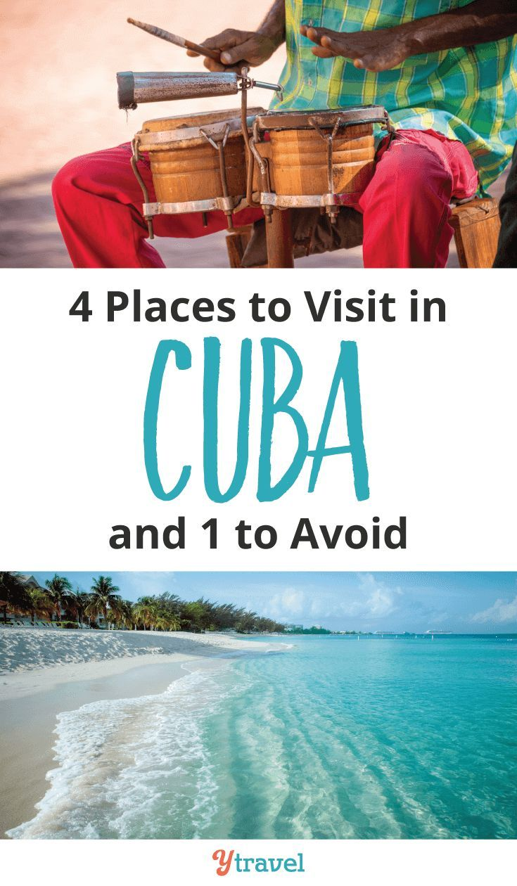 4 places to visit in Cuba and one to avoid. Top travel tips for visiting Cuba, including things to do in Havana, Trinidad, great food to try, places to visit, incredible beaches, and more.  Check out this guide for planning your Cuba itinerary | Cuba vacation | Cuba travel tips | Havana travel | Caribbean. #Cuba #Havana #Trinidad #worldtravel #caribbean #cubatravel #Caribbeantravel