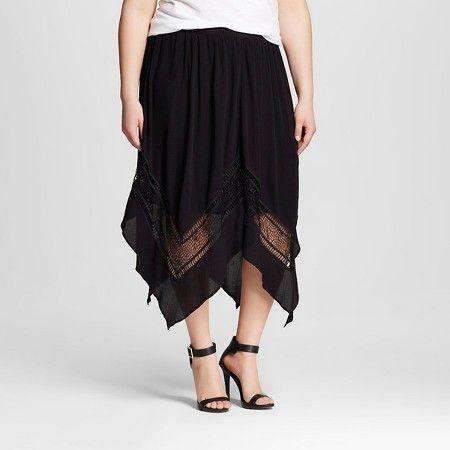 a7ec4205f Women's Plus Size Gauze Skirt - 3Hearts (Juniors') : Target - 3X ...