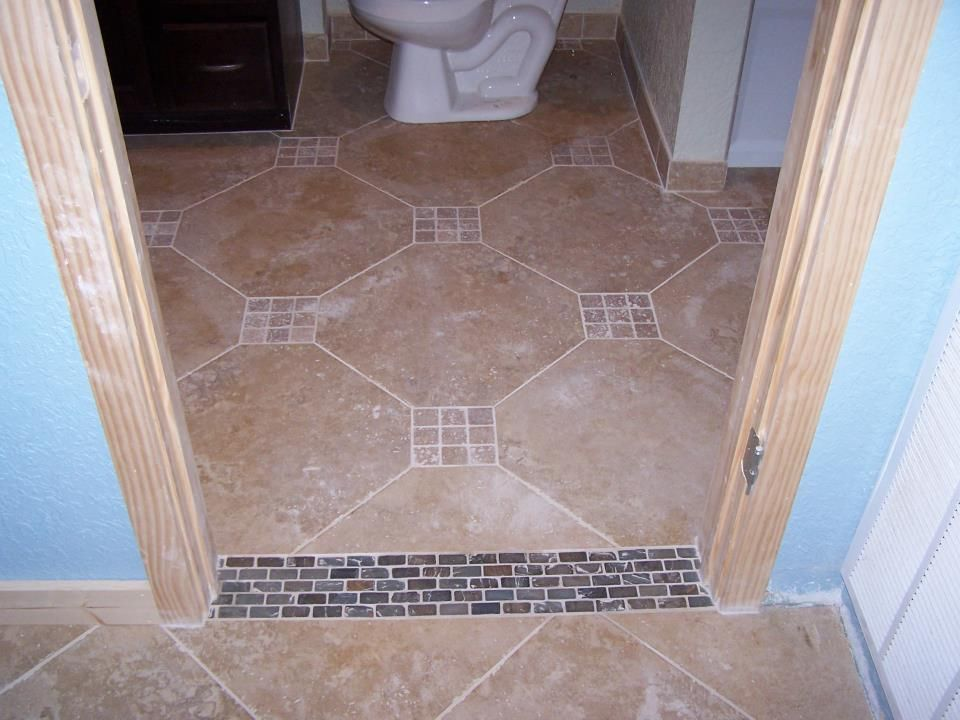 Love This Tile Transition Between 2 Rooms Remodeling