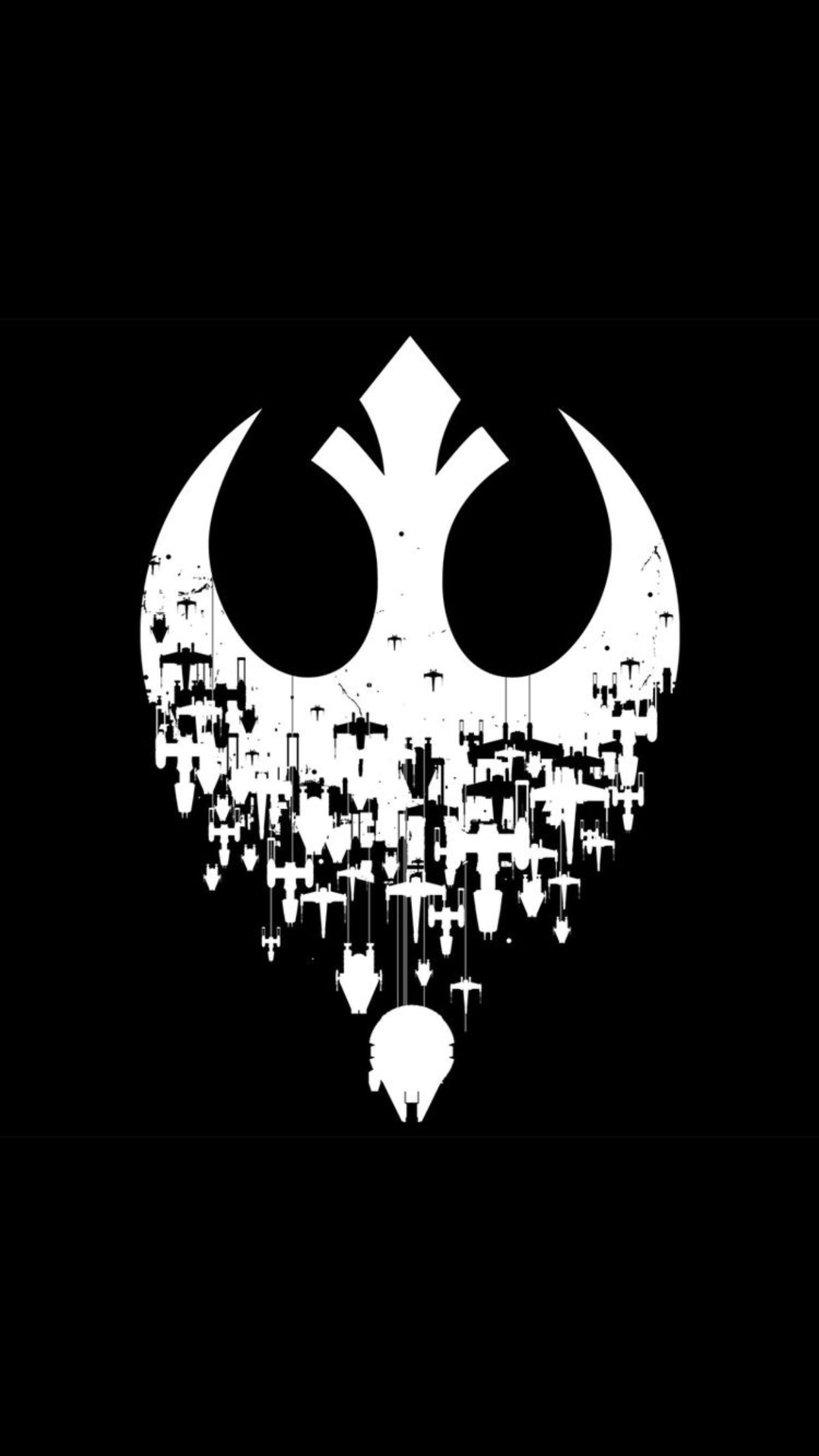 Star Wars Decal Rebel Alliance Skull Insignia Solid Design ... |Cool Rebellion Symbol