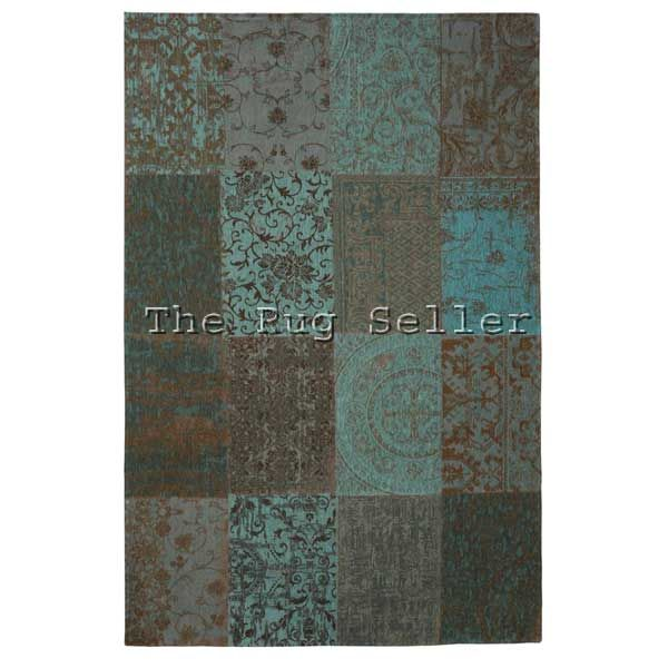 Vintage Rugs Multi 8006 In Sea Blue Online From The Rug