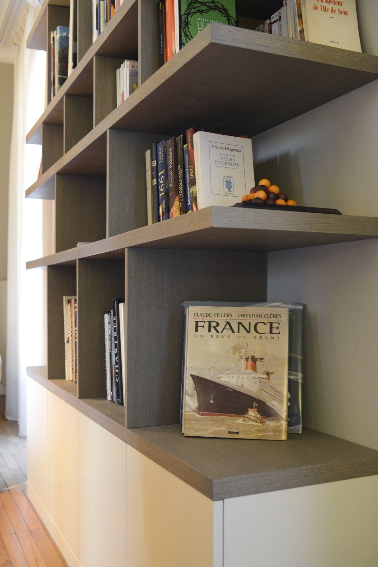 Bibliotheque Sur Mesure Paris Nantes Lorient Vannes La Compagnie Des Ateliers Bibliotheque Sur Mesure Idees Etageres Bibliotheque Design