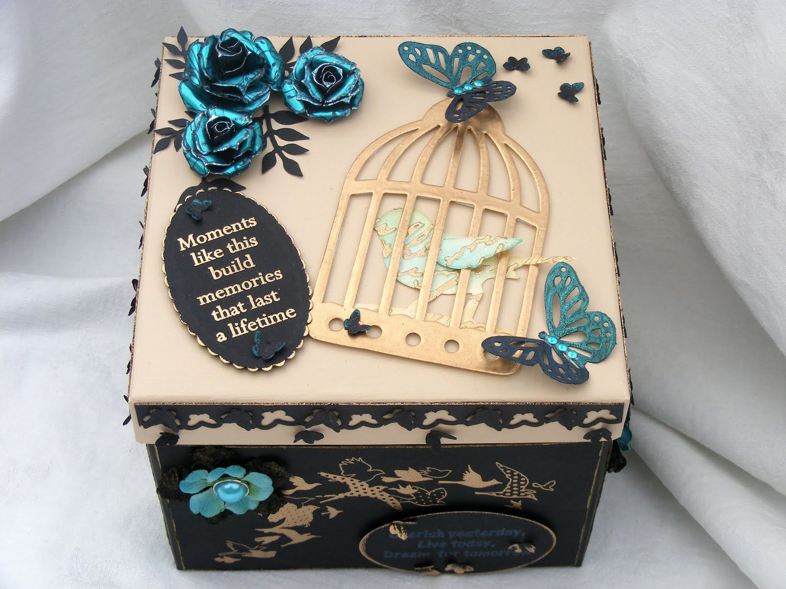memory box craft ideas memory box decorating ideas to decorate a box for to 4911