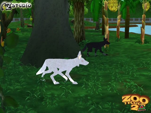 Zoo Tycoon 2 Paranoia Cryptid | Amarok the giant wolf from