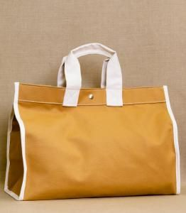 I do have a birthday coming up..  Love this Classic Field Bag by Utility Canvas (available at Purl Soho)
