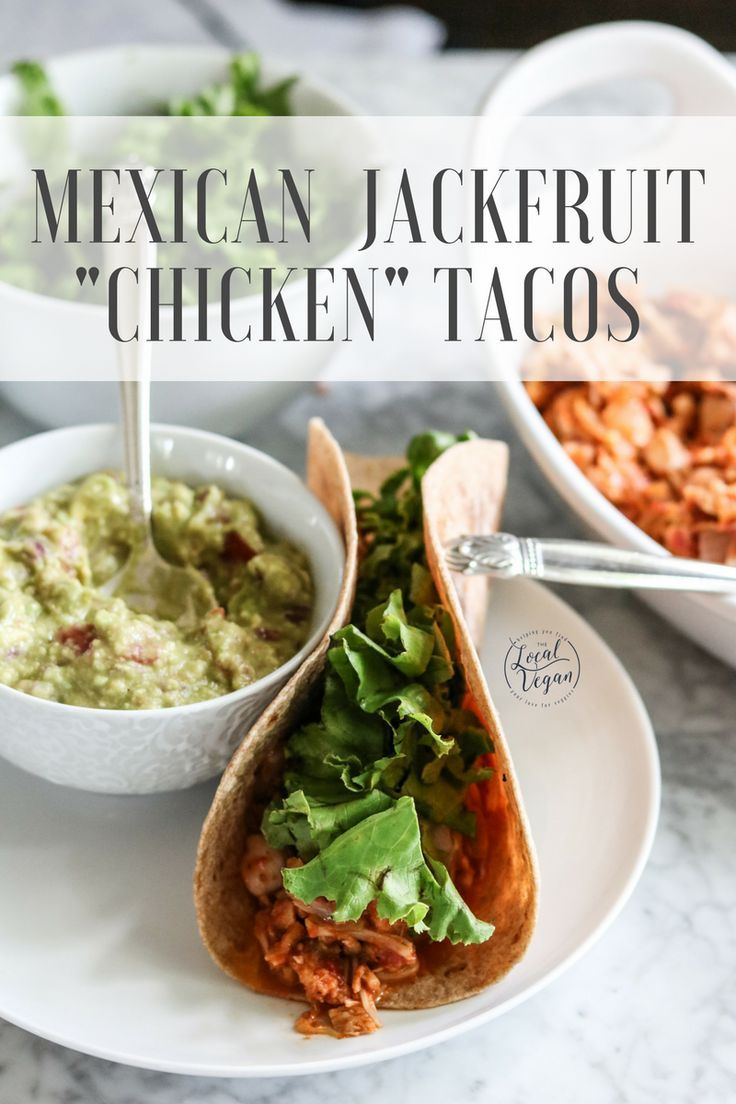 Mexican jackfruit chicken tacos smokehouse salad healthy vegan mexican jackfruit chicken tacos smokehouse salad healthy vegan lunch dinner recipes plantbased cleaneating best food blogger recipes pinterest forumfinder Gallery