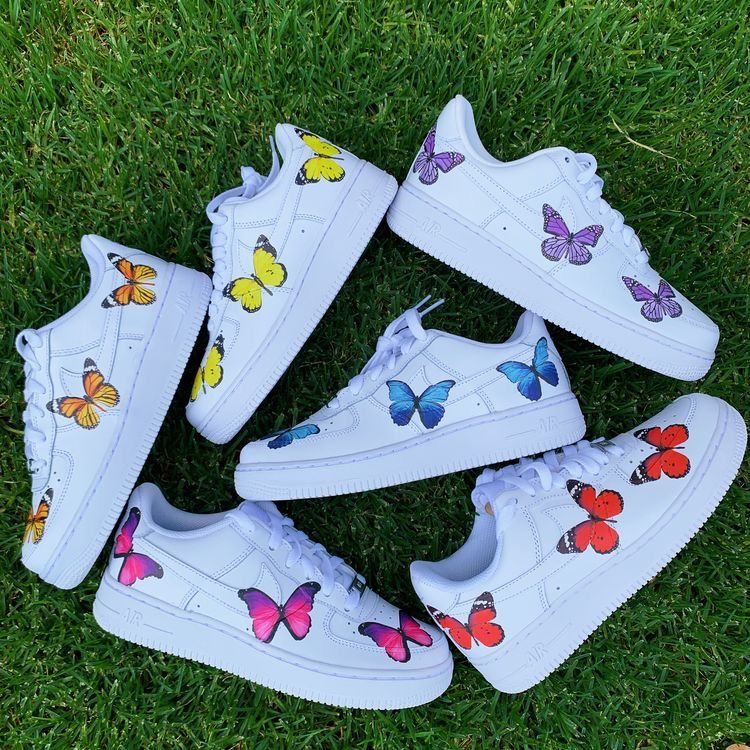 butterfly shoes in 2020 Butterfly shoes, All nike shoes