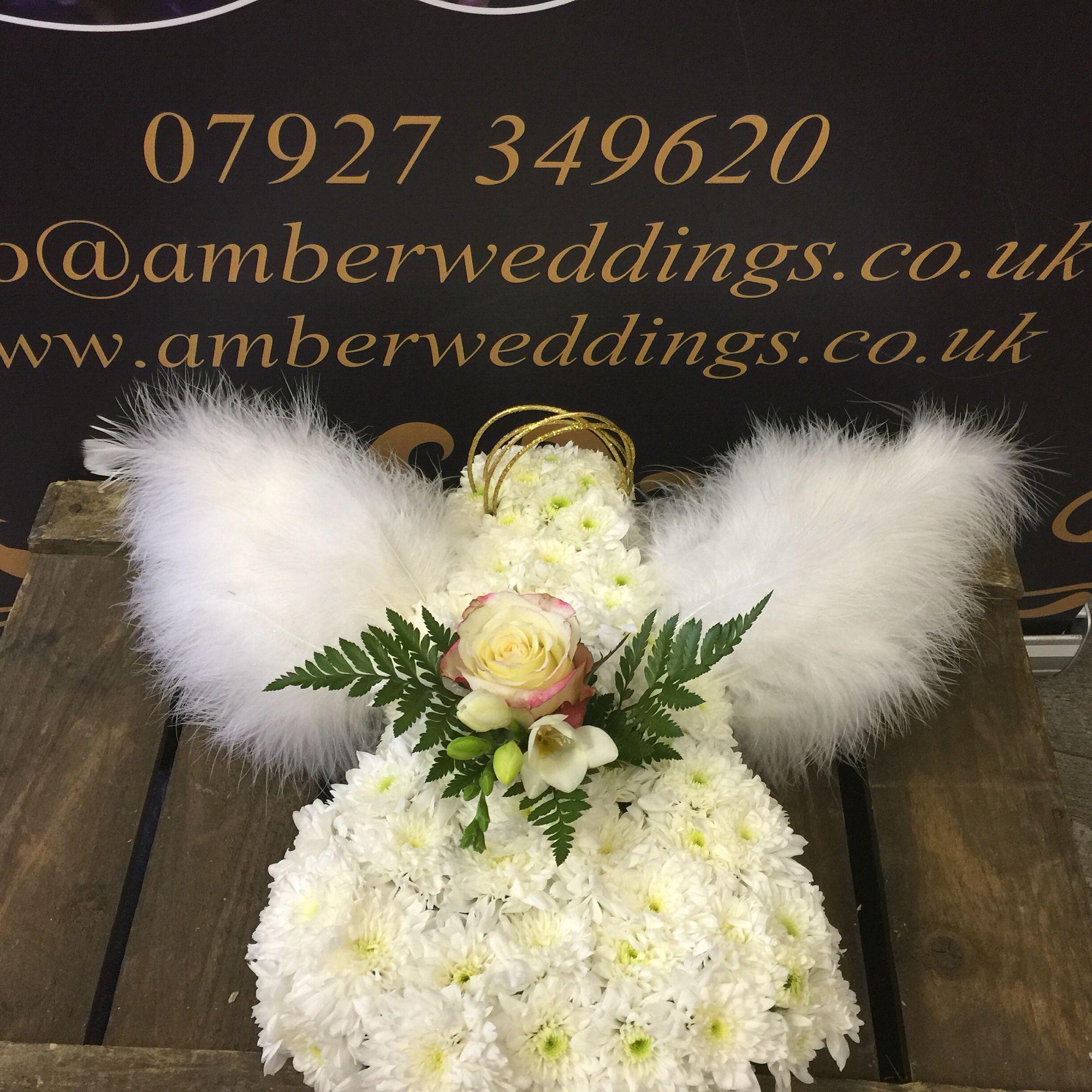 Mini angel funeral flowers by amber weddings amberweddings funeral mini angel funeral flowers by amber weddings izmirmasajfo