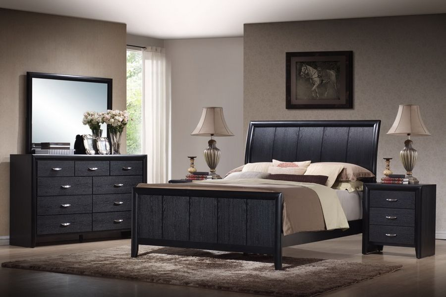 Tichenor Queen Piece Wooden Modern Bedroom Set See White Furniture Sets  Fresh Bedrooms Decor Ideas · Black KingBlack ...