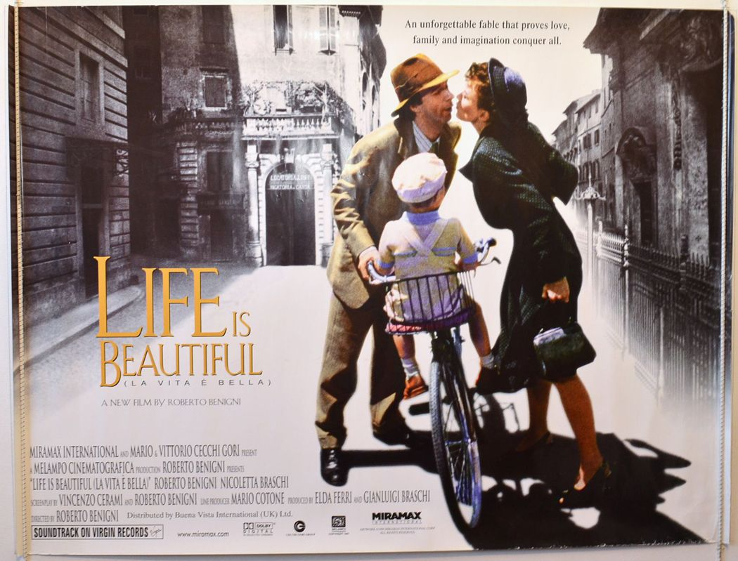 Life Is Beautiful La Vita è Bella 1997 Stu Loves Film Life Is Beautiful Life Beautiful