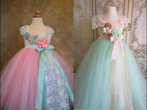Vestidos Princesa Para Niñas Youtube Robe Princesse