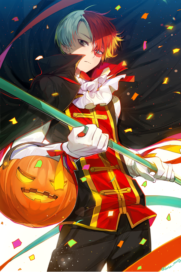 僕のヒーローアカデミア Halloween bosack/ぽかぽかのイラスト Anime, My