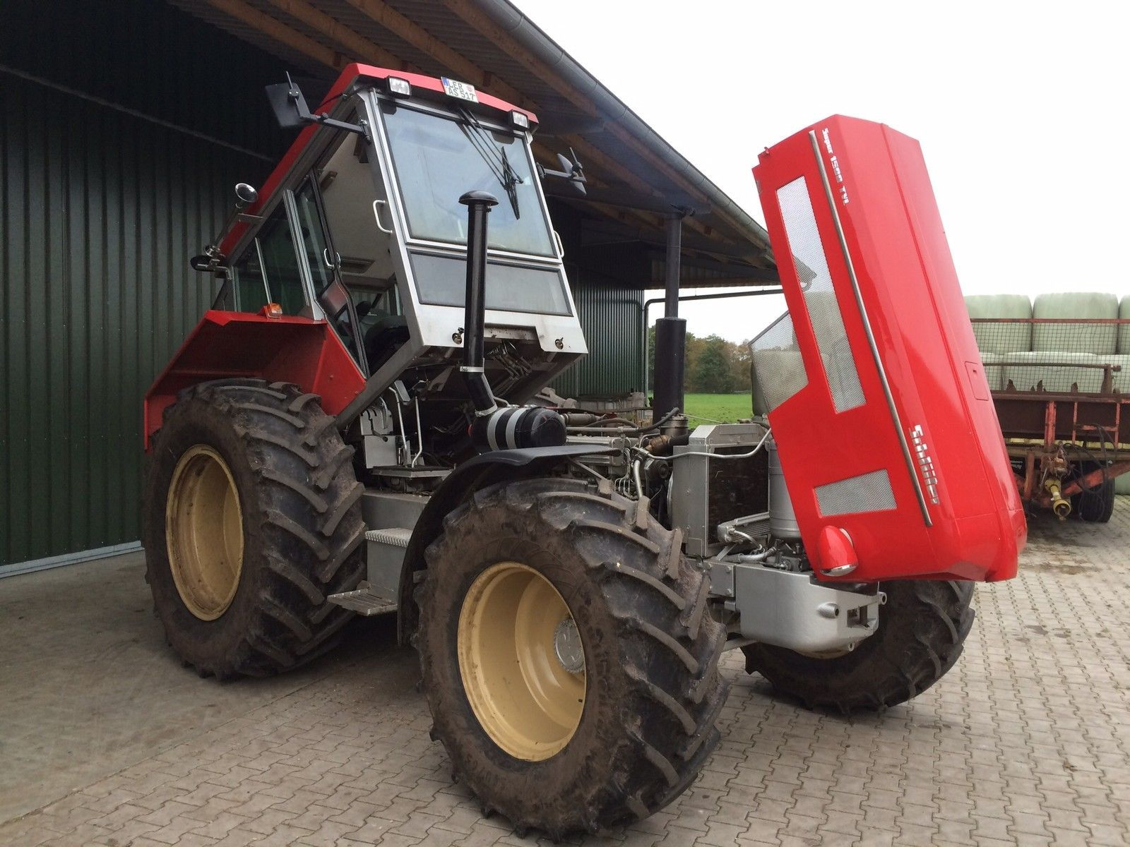 schl ter super 1500 tvl schlepper traktor ebay. Black Bedroom Furniture Sets. Home Design Ideas