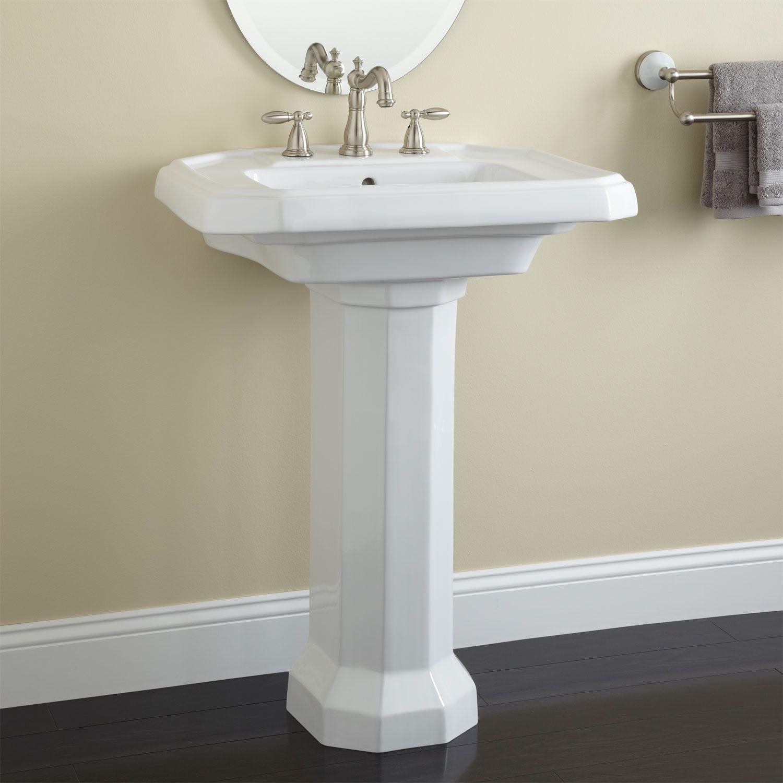 Gentil Drexel Porcelain Pedestal Sink